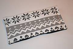 Textil - softshellový rukávnik na kočík VINTER obojstranný - 11357143_