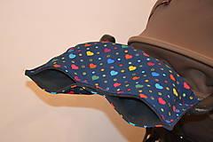 Textil - softshellový rukávnik na kočík - 11357212_