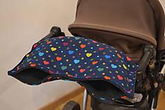 Textil - softshellový rukávnik na kočík - 11357213_