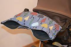 Textil - softshellový rukávnik na kočík - 11357224_