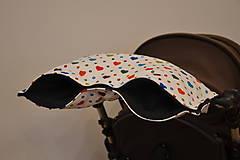 Textil - softshellový rukávnik na kočík - 11357226_