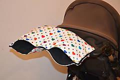 Textil - softshellový rukávnik na kočík - 11357228_