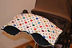 Textil - softshellový rukávnik na kočík - 11357234_