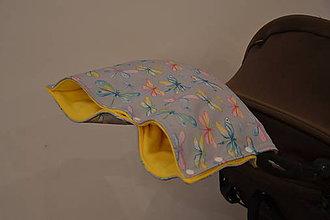 Textil - softshellový rukávnik na kočík - 11357138_