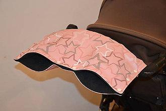 Textil - softshellový rukávnik na kočík - 11357201_