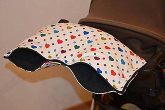 Textil - softshellový rukávnik na kočík - 11357229_