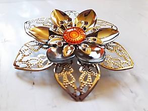 Brošne - Brošňa Mandala Strength - 11355419_