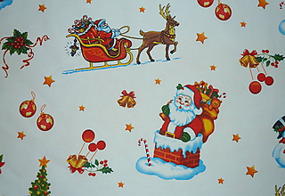 Textil - Látka Dedo Mráz - 11358646_