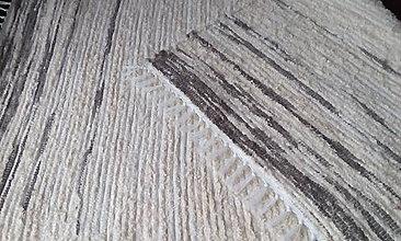 Úžitkový textil - Mäkkučký koberček - 11356587_