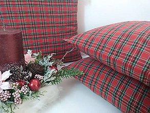 Úžitkový textil - Vianočné vankúšiky..... - 11355535_