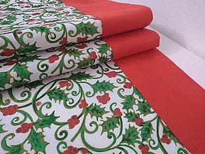 Úžitkový textil - Vianočný obrus - 11355551_