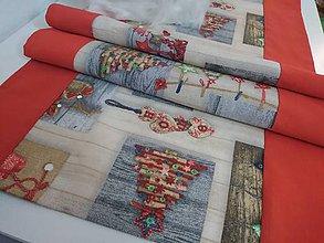 Úžitkový textil - Vianočná štóla - 11355561_