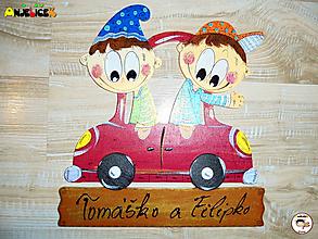 Tabuľky - Menovka - dvojica - 11358440_