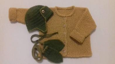 Svetre - súprava pre bábätko - 11356424_