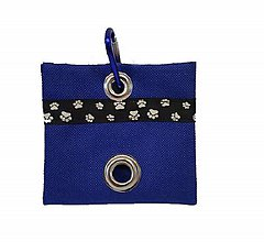 Pre zvieratká - Zásobník na WC vrecká modrý - 11357311_