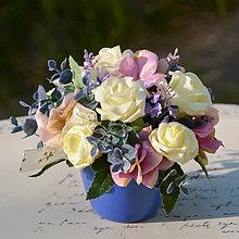 Dekorácie - Ikebana na stôl - 11357188_