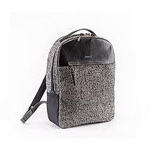 Batohy - Backpack Tweedy Leather - 11359387_