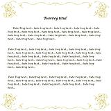 Grafika - Vtipný textík zo slov začínajúcich na rovnaké písmeno - 11355740_