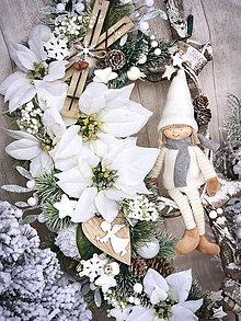 Dekorácie - Vianočná dekorácia rebrík - 11357558_