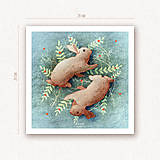 """Obrázky - Obrázok """"Fauna a Flóra"""" - zajac - 11356651_"""