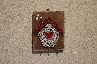 Dekorácie - Domček na kľúče - 11358830_