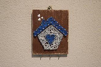 Dekorácie - Domček na kľúče - 11358854_