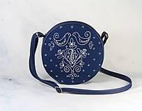Kabelky - kabelka Tina modrotlač AM1 - 11357932_