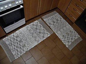 Úžitkový textil - Tkané koberce na objednávku 2 ks - 11358329_