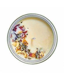 Svietidlá a sviečky - Proti stresu - aromaterapeutická sójová sviečka - 11360067_
