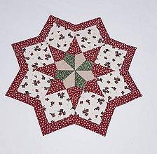 Úžitkový textil - Vianočná  hviezda - 11362235_