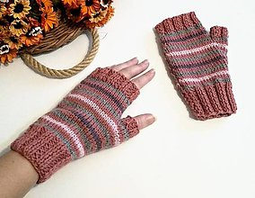 Rukavice - Bezprstové rukavice - 11359689_