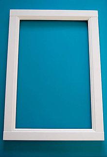 Zrkadlá - Drevený rám na zrkadlo - 11362420_