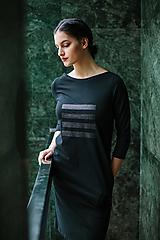 Šaty - FNDLK úpletové šaty 449 RVqL_glitter - 11359973_