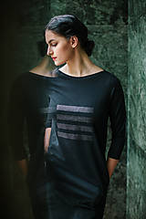 Šaty - FNDLK úpletové šaty 449 RVqL_glitter - 11359976_