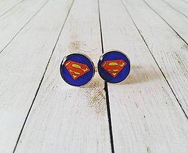 Šperky - Manžetové gombíky Superman - 11361890_