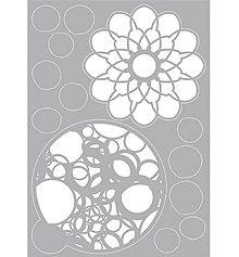 Pomôcky/Nástroje - Šablóna na maľovanie Mandaly a kruhy - 11360130_