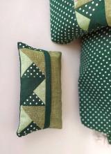 Batohy - Zelená sada batoh + taštička + puzdro - 11199515_