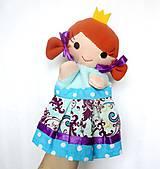 Hračky - Princ a princezná - sada maňušiek na ruku - 11362143_
