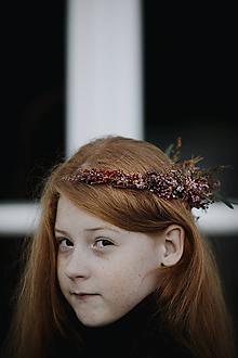 Ozdoby do vlasov - Veniec Soho - 11361801_