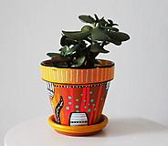 Nádoby - Terakotový kvetináč - Srandy kopec - 11362785_