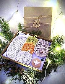 Úžitkový textil - Vianočný darčekový set. - 11361678_