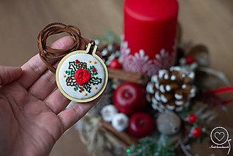 Náhrdelníky - Vianočná Vyšikráska Ivica - 11360416_