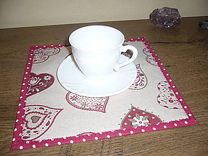 Úžitkový textil - Prestieranie 26x26 - 11361350_