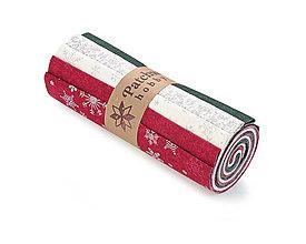 Textil - Bavlnené látky - rolka Christmas 9 - 11361976_