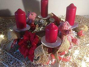 Dekorácie - Adventny vianočný  veniec mackovia - 11360490_