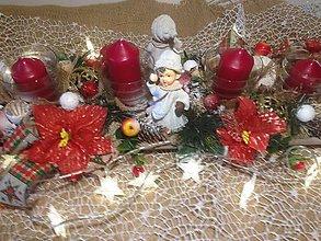 Dekorácie - Adventny svietnik 60cm - 11360686_