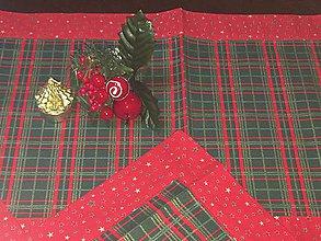 Dekorácie - Vianočné obrusy! (sada3ks) - 11359898_