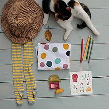 Detské oblečenie - puntíky(vel.110) - 11363204_