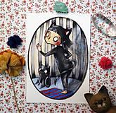 Grafika - Všetky mačky - 11365080_