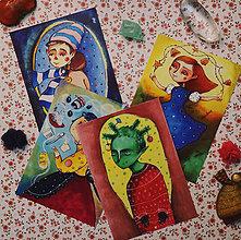 Papiernictvo - Pekné Vianoce/ pohľadnice - 11365001_